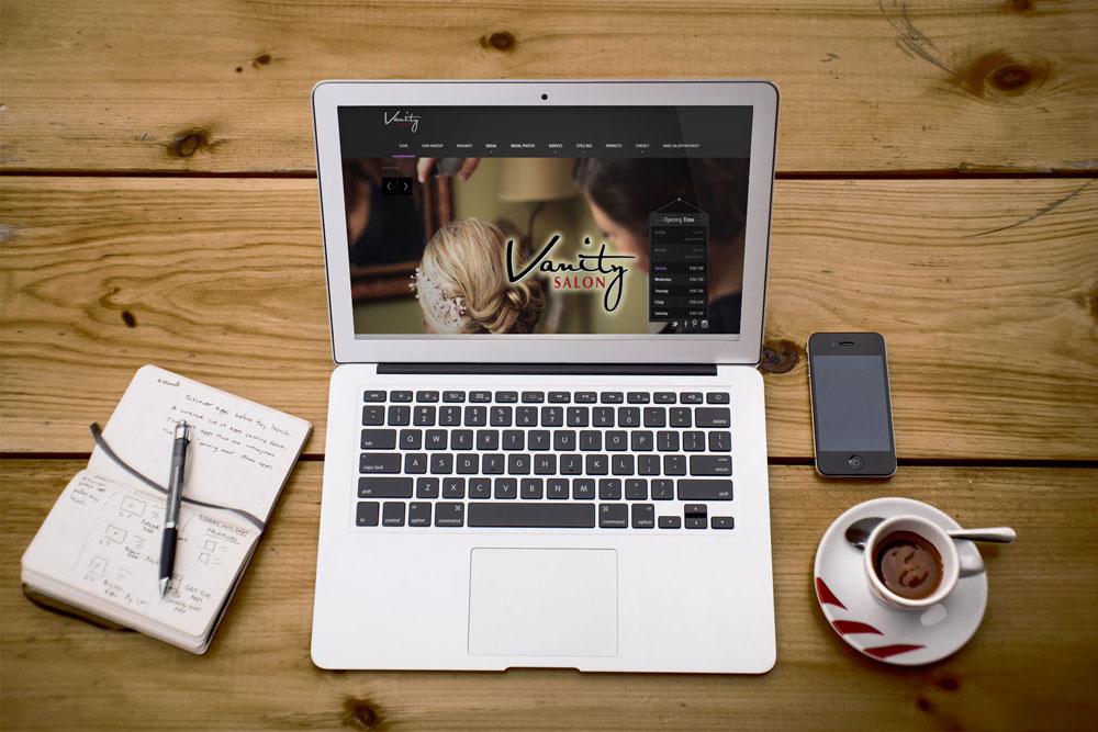 Vanity Salon Website