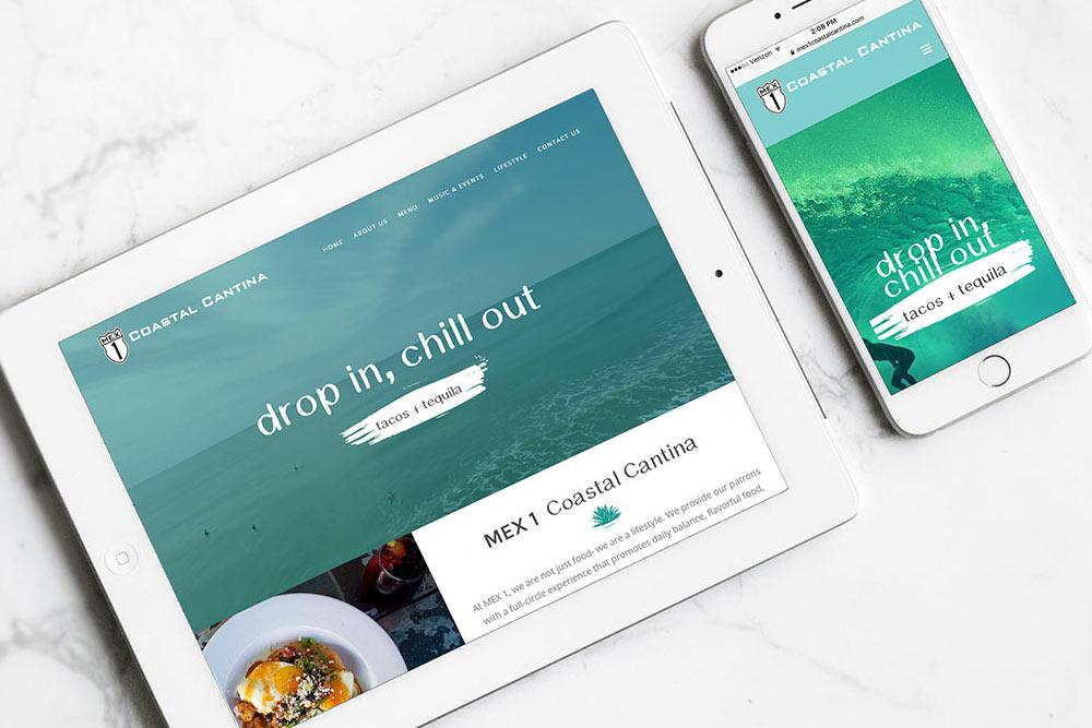 Mex 1 Coastal Cantina Website