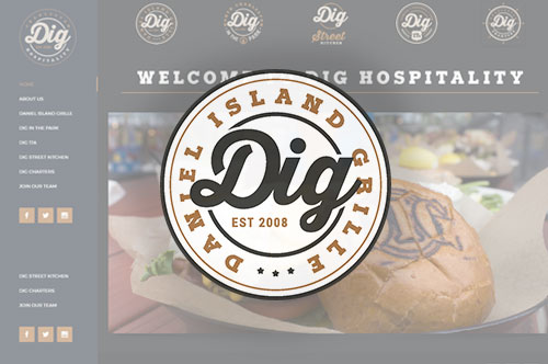 DIG Hospitality Website