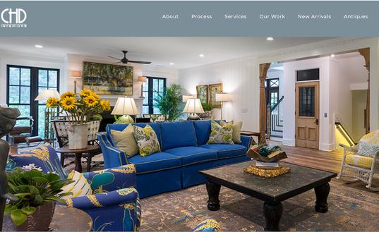 CHD Interiors Website