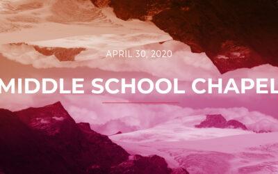 Middle School Chapel 0430