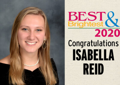 Reid named a Best & Brightest