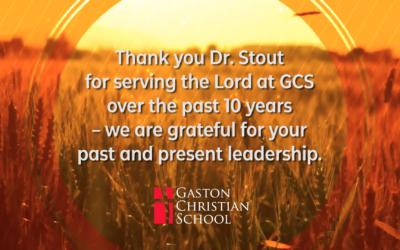 Thank You, Dr. Stout