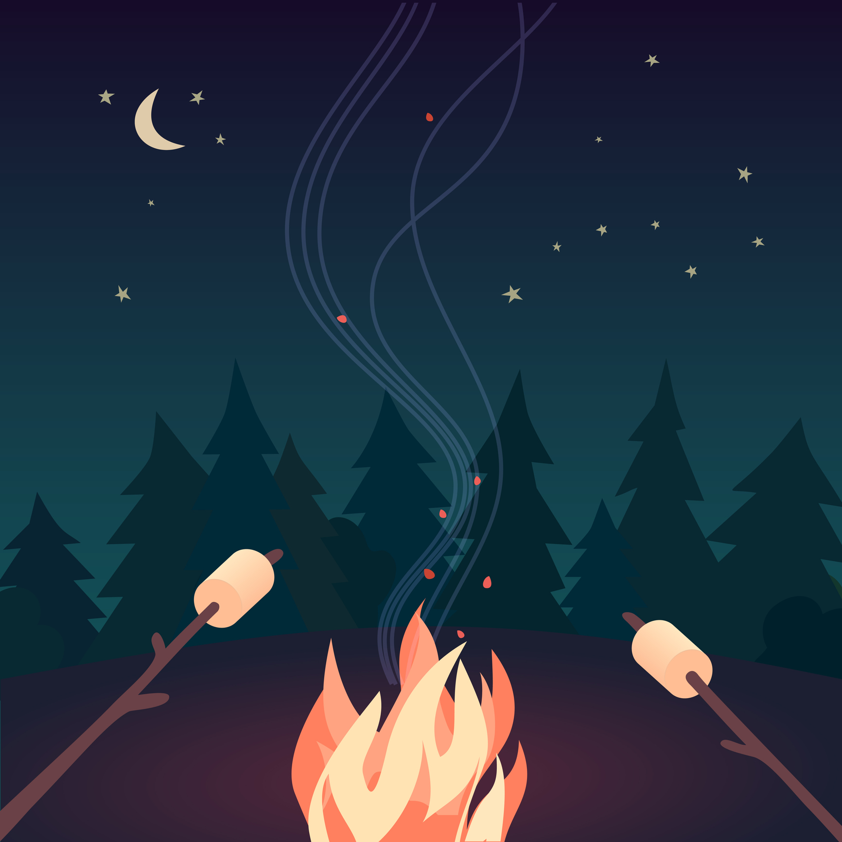 What Camping and COVID Taught Me About Burnout