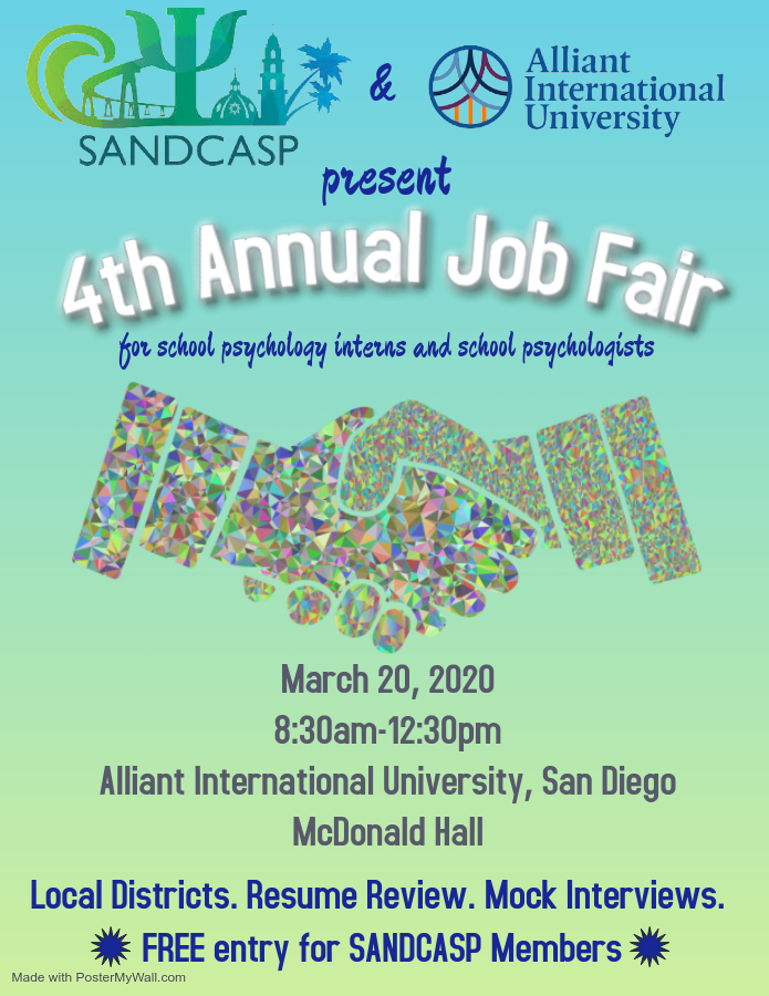 2020 Job Fair - Made with PosterMyWall