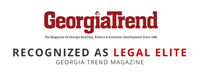Edwards Family Law is recognized as a legal elite from Georgia Trends Magazine