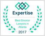 Edwards Family Law is proud to be recognized as one of the best divorce attorneys in Atlanta from Expertise.