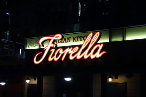 I love this restaurant - I figured this would be a great place to hang out with Angela!