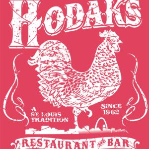 T-shirt Hodak's Rooster