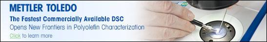 METTLER TOLEDO: The Fastest Commercially Available DSC