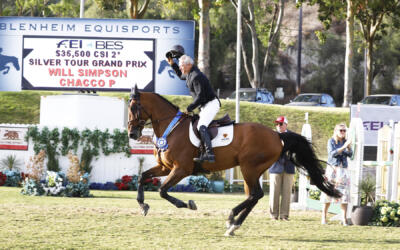 Will Simpson and Savannah Jenkins Gallop Away with the Goods