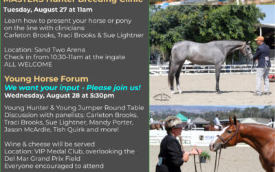 Young Horse Clinic & Forum