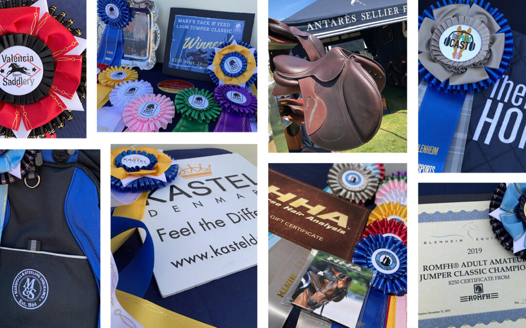 Celebrating Circuit Awards Presented to Top Competitors From the 2019 Blenheim EquiSports Show Season