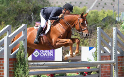 French and Duffy Finish First at USHJA Green Hunter Incentive Southwest Regional Championships