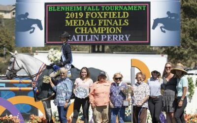Kaitlin Perry Takes the Victory in the 48th Annual Foxfield Medal Final