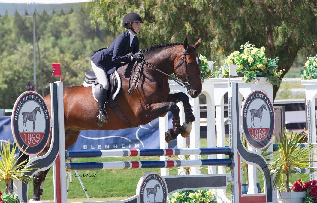 """Nicole McMillion Makes Her Mark in the EMO Insurance/USHJA 3'3"""" Jumping Seat Medal Finals – West"""