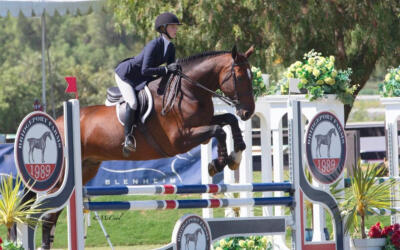 "Nicole McMillion Makes Her Mark in the EMO Insurance/USHJA 3'3"" Jumping Seat Medal Finals – West"