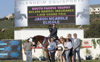 Jason McArdle And Elicole Race To The Win In $25,000 Markel Insurance Grand Prix