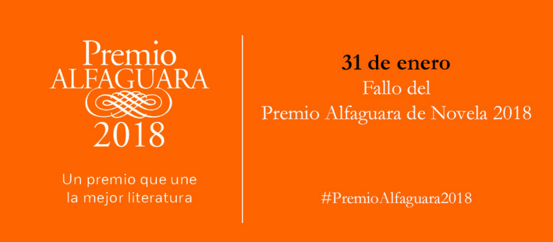 Premio Alfagura 2018