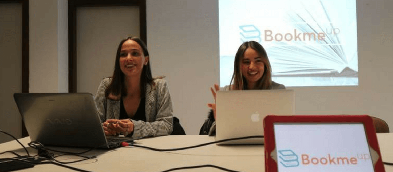 Mar Javier y Gemma Bosch, Bookmeup.