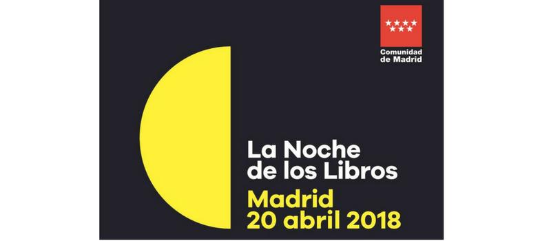 La noche de los libros 2018.