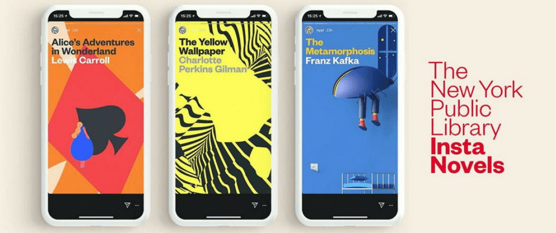 insta novels de la biblioteca de nueva york