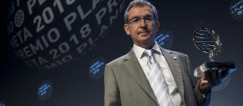 Santiago Posteguillo recibe Premio Planeta 2018