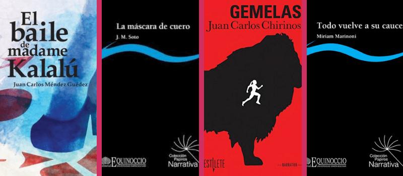 Finalistas Premio de la Crítica en la mención novela