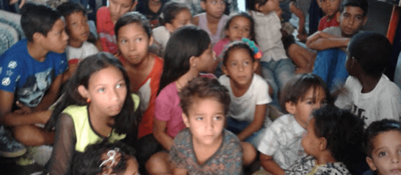 Niños de El Cardón