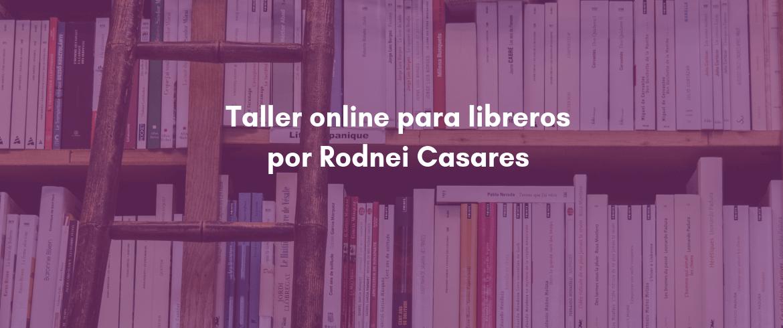 Taller online para libreros