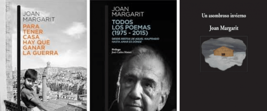 Joan Margarit. Libros