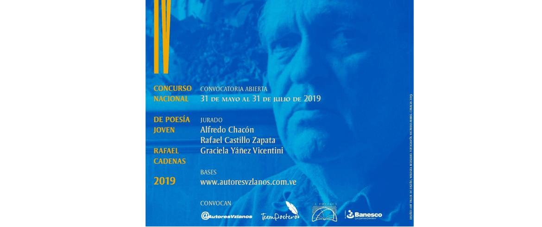 IV Concurso Nacional De Poesía Joven Rafael Cadenas
