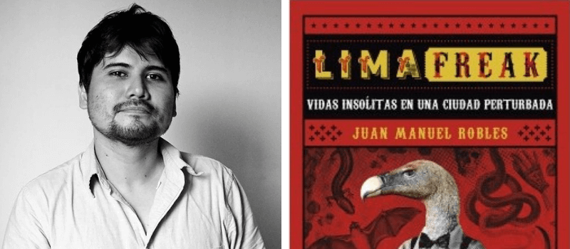 Juan Manuel Robles. Leamos Escritores Peruanos