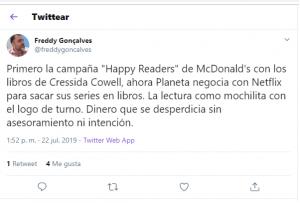 Tuit Freddy Gonçalves