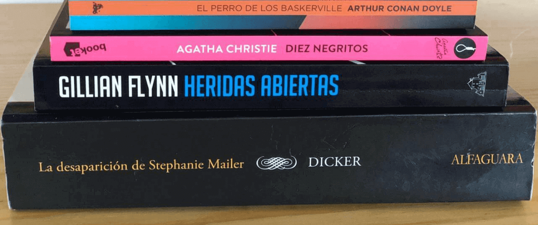 Cuatro libros de misterio