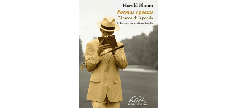 El canon de la poesía de Harold Bloom