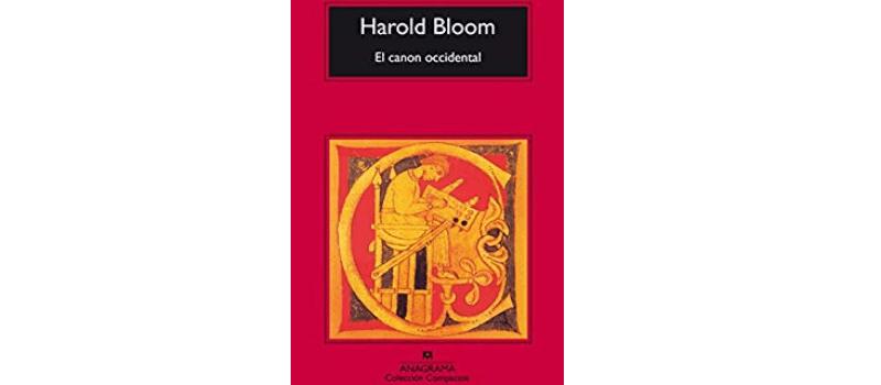 El canon occidental de Harold Bloom