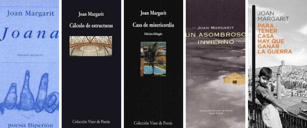 Libros Joan Margarit