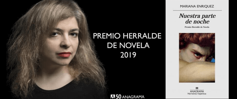 Mariana Enríquez, Premio Herralde 2019
