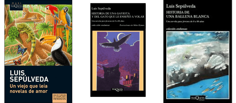 Libros Luis Sepulveda