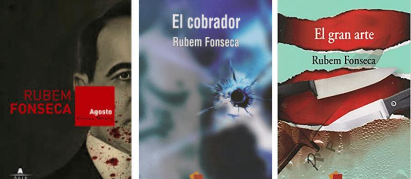 Libros Rubem Fonseca