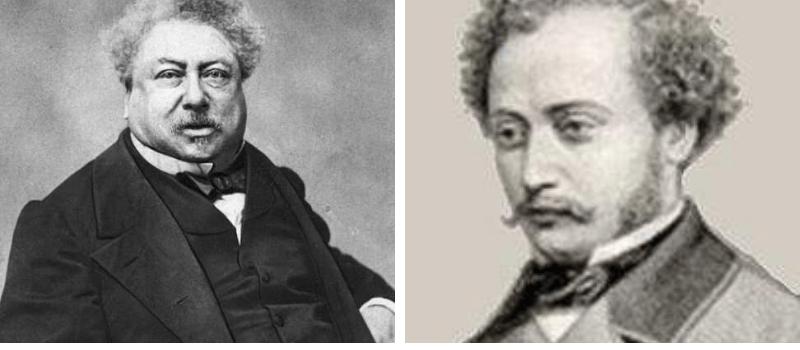 Alejandro Dumas y Alejandro Dumas hijo