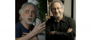 Fernando Trueba y Héctor Abad Faciolince