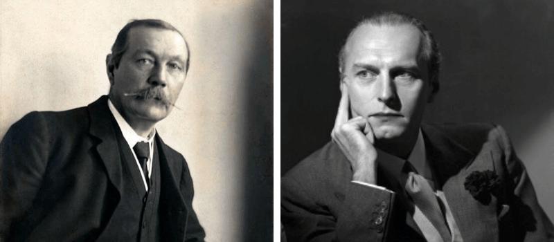 Sir Arthur Conan Doyle y Adrián Conan Doyle