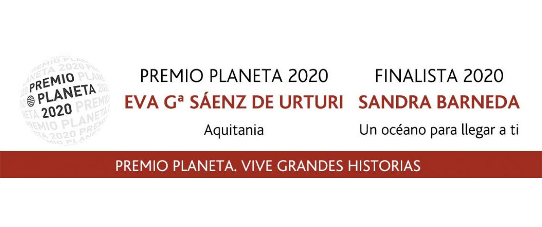 Eva García Sáenz De Urturiganadora del Premio Planeta 2020