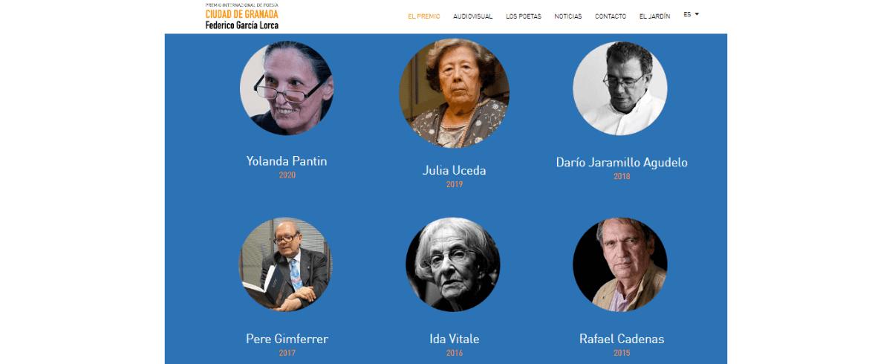 Yolanda Pantin ganadora del Premio de Poesía Federico García Lorca