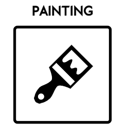 Painting Icon With Text