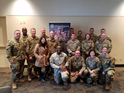 Meeting with Kansas National Guard
