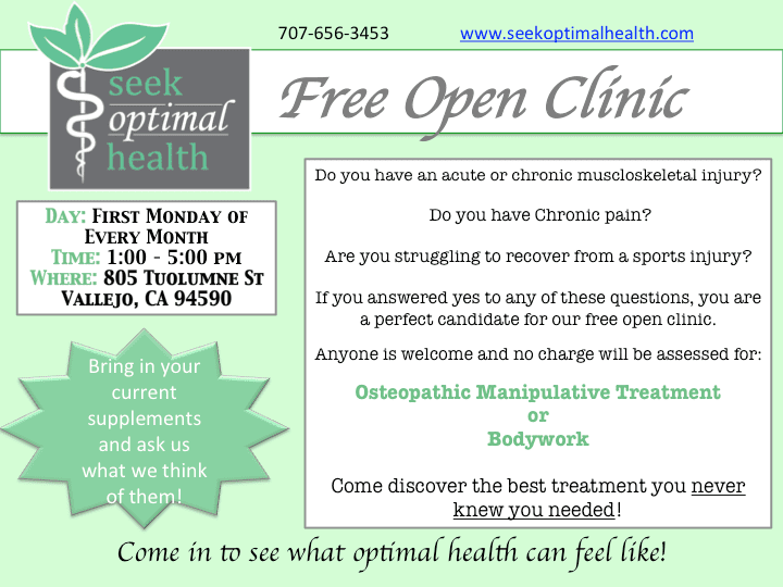 Free-Open-Clinic-First-Monday-of-Every-Month