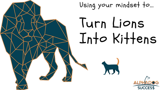 Using your mindset to turn lions into kittens